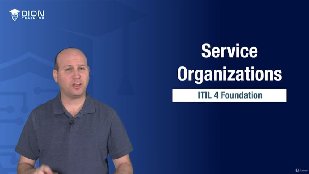 Udemy Introduction to Service Management with ITIL 4 Screenshot