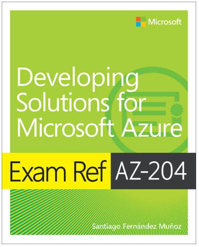AZ-204 Exam Reference Book Cover